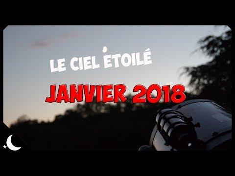 Le ciel étoilé - Janvier 2018