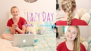Lazy Day Hair & Makeup☆ Thumbnail