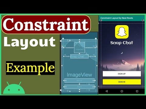 ConstraintLayout Tutorial  - Responsive Layout - Layout Design Using Constraint Layout