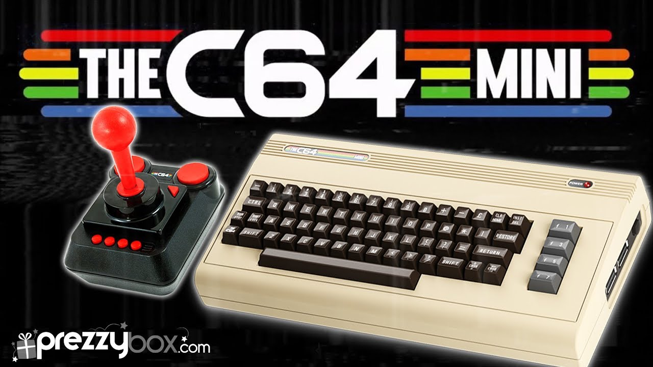 The C64 Mini Gaming Console - Retro Gaming