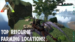 Ark Survival Evolved TheCenter Best Resource Farming Locations