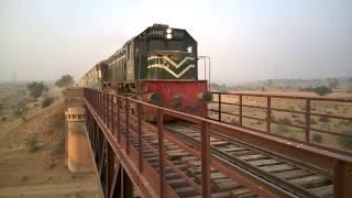 Pakistani Fast Train in Pull - Haro Pull - Attock city