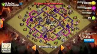 Let's Play Clash Of Clans - Dicas para a Guerra #1