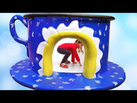 Outdoor Playground Fun for Children Activities with Diana! Ba shark songs for kids