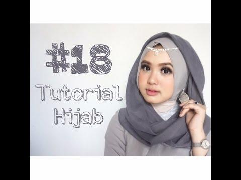 Kreasi Mudah Buket Bunga dari Hijab Tiga Warna.