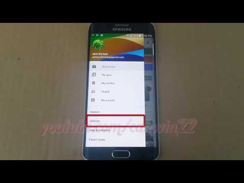 Google Play Store : How to set Require authentication for purchases in Samsung Galaxy S6