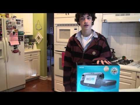 Nintendo Wii U Unboxing on Release +7...