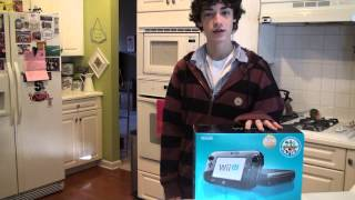 Nintendo Wii U Unboxing on Release +7 games!