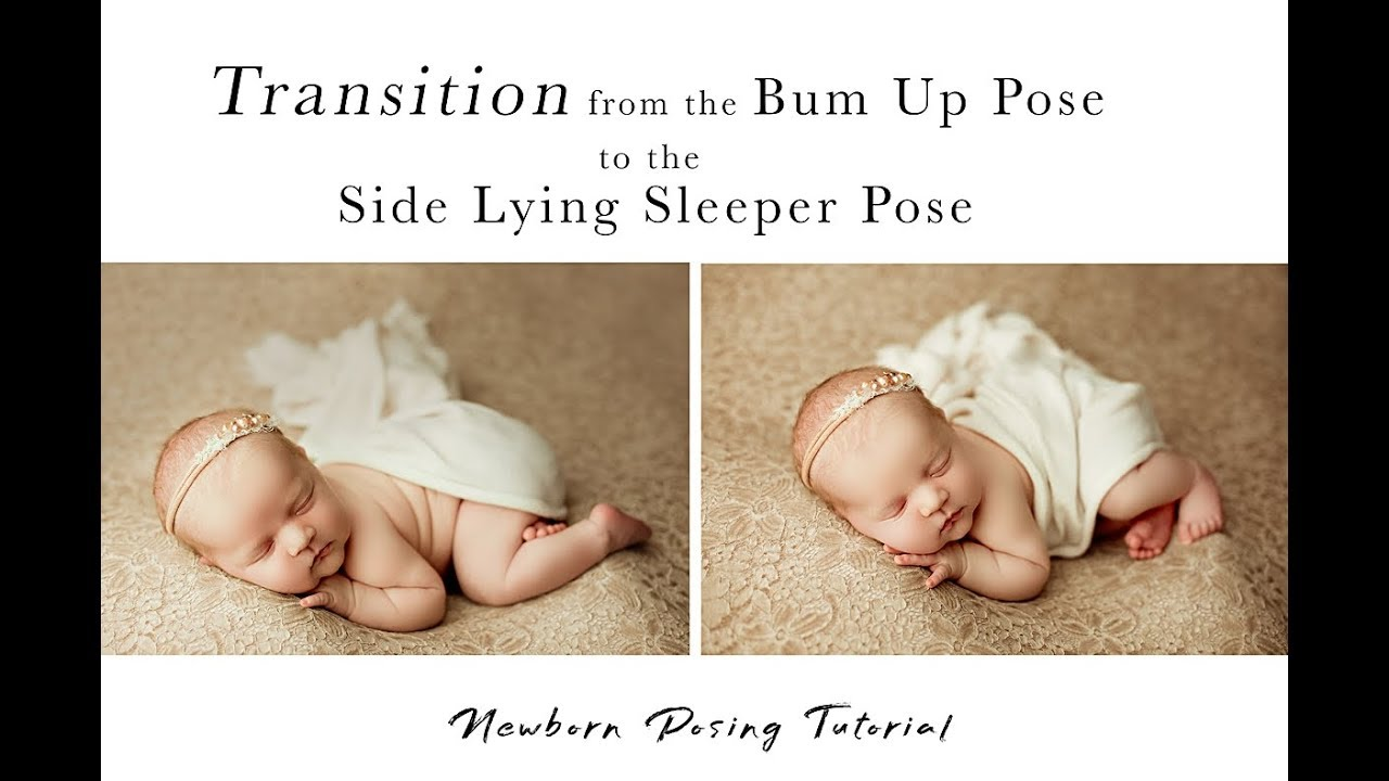 Newborn photography posing tutorial 2 of a 3 part series