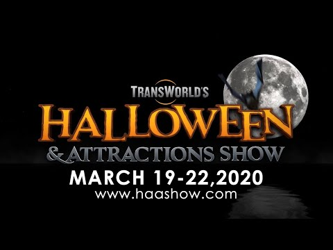 Ransworld 2020 - Halloween & Haunt Show TransWorld's Halloween & Attractions Show