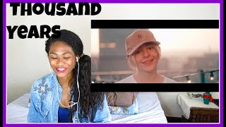 Bars and Melody - Thousand Years | Reaction