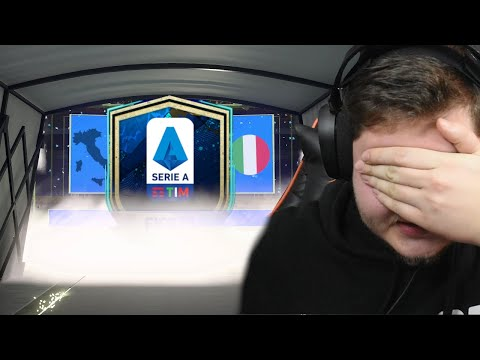 SESTAVIL JSEM CELOU SERII A! [FIFA 21]