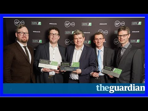 Guardian wins newspaper of year at football supporters' federation awards