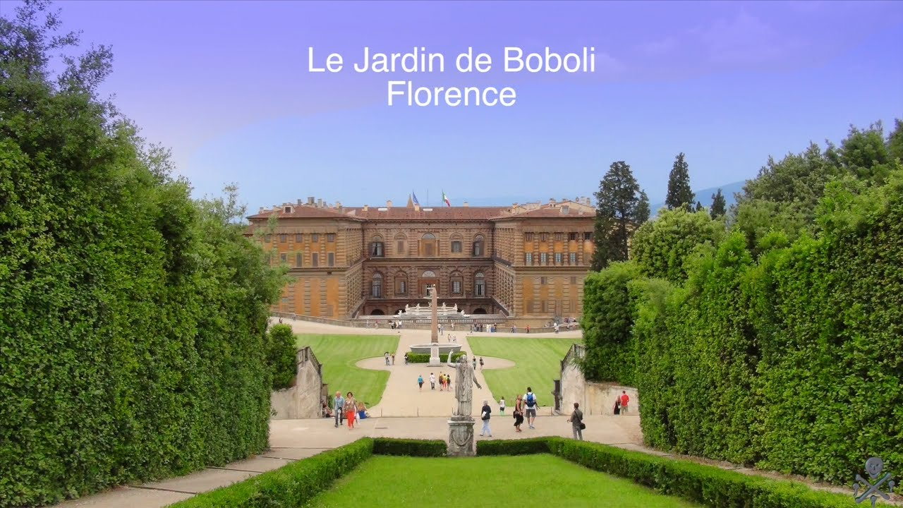 Le jardin de boboli florence italie youtube for Les jardins de lee