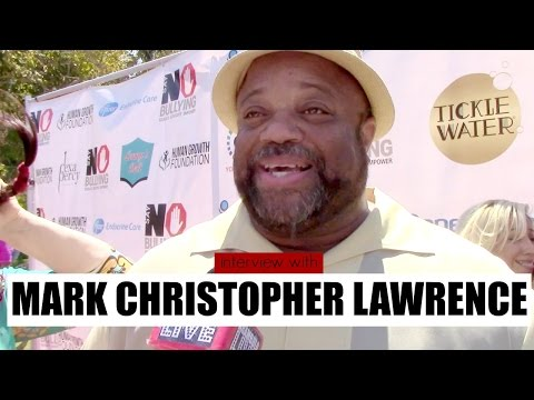Interview with Mark Christopher Lawrence at the Say No Bullying Festival