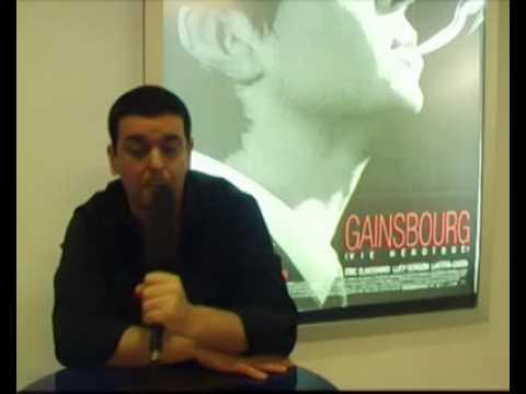 Interview Gainsbourg - Joann Sfar