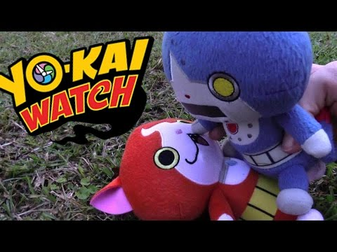 Yokai Watch plush - Episode 16 Robonyan Loses His Memory