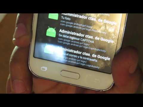Samsung Galaxy Core Prime Hard Reset y Remover Cuenta de Google