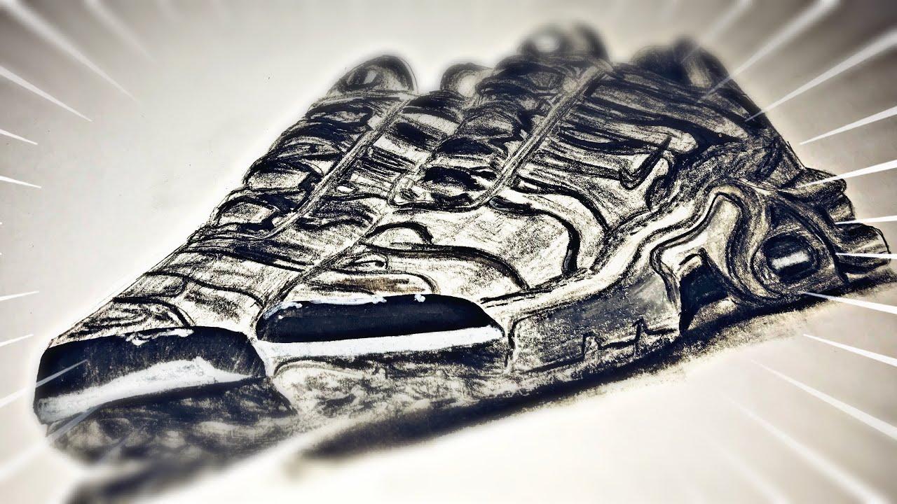 Speed Drawing Dessiner Les Paires De Chaussures Nike Tn Dessinerdespairesdechaussures Youtube