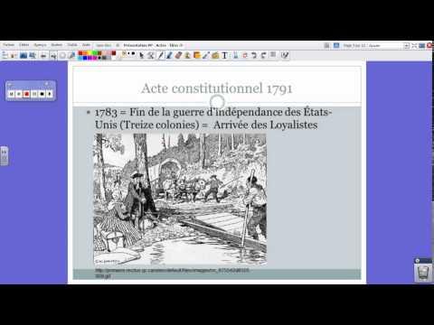 MM - Histoire du Canada - Actes