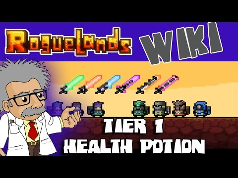 ROGUELANDS WIKI - How to CRAFT a TIER 1 Health Potion - Roguelands Tutorial
