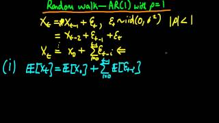 A Random Walk - introduction and properties