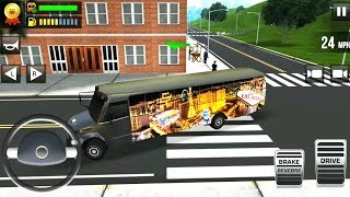 Ultimate Bus Driving Game - Free 3D Realistic Bus Simulator - Android Gameplay