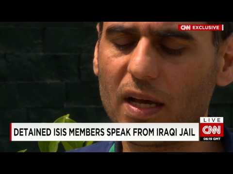 CNN Exclusive! Detained ISLAMIC STATE Members Speak From Iraqi Jail!