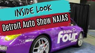 Walk Through the Detroit Auto Show