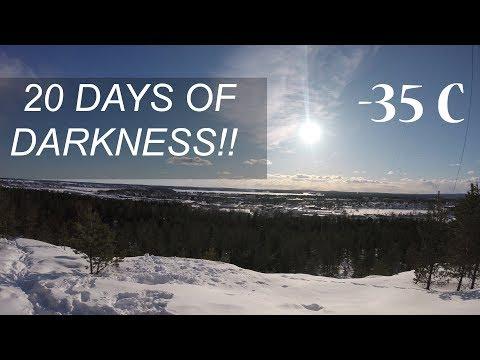 THE SWEDISH WINTER (Northen Part)