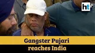 Gangster Ravi Pujari extradited from Senegal arrives in India