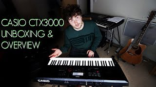 Casio CT-X3000 Overview
