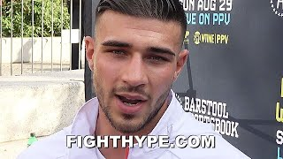 """TOMMY FURY GIVES """"SPECTACULAR"""" TYSON UPDATE; PREDICTS QUICKER WILER KO & JAKE PAUL """"HURT"""" BY WOODLEY"""