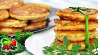"""Оладьи с квашеной капустой """"Фучки"""" на завтрак.Украинская кухня.Необычно.Сытно.Вкусно."""