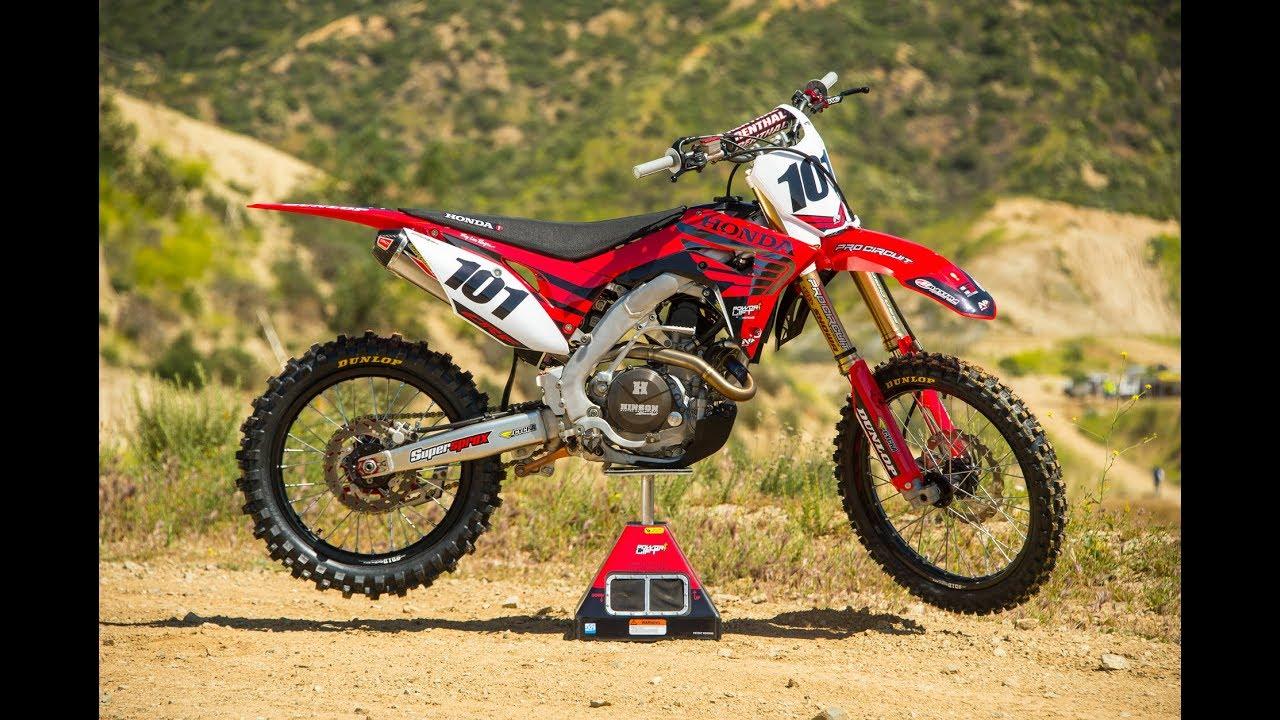 Racer X Films: 2017 Honda CRF450R