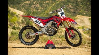 Being that the 2017 Honda CRF450R was all-new, it created challenge...