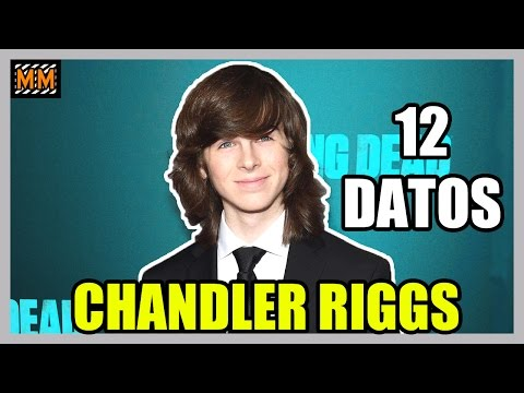 "12 Curiosidades sobre ""CHANDLER RIGGS"" - (The Walking Dead) - 