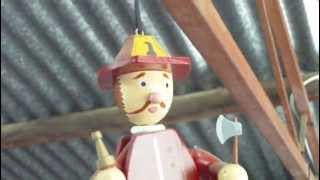 Video For Children Wood Toys Jumping Jack Puppet Fireman For Kiddies Videos