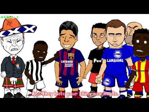 👟⚽️LUIS SUAREZ ADIDAS BOOT ADVERT PARODY👟⚽️ Of Course There Will Be Haters (442oons)