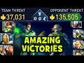 Injustice 2 Mobile. BEST TEAM IN THE GAME. Unbelievable Victory. Defeating 4 TIMES Stronger Teams.