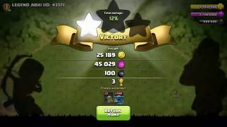 FULL BASE OF MAX ROASTER VS 200 SUPER PEKKA||clash of clans private server||