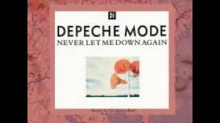 Depeche mode -Never let me down again ( Techno remix )