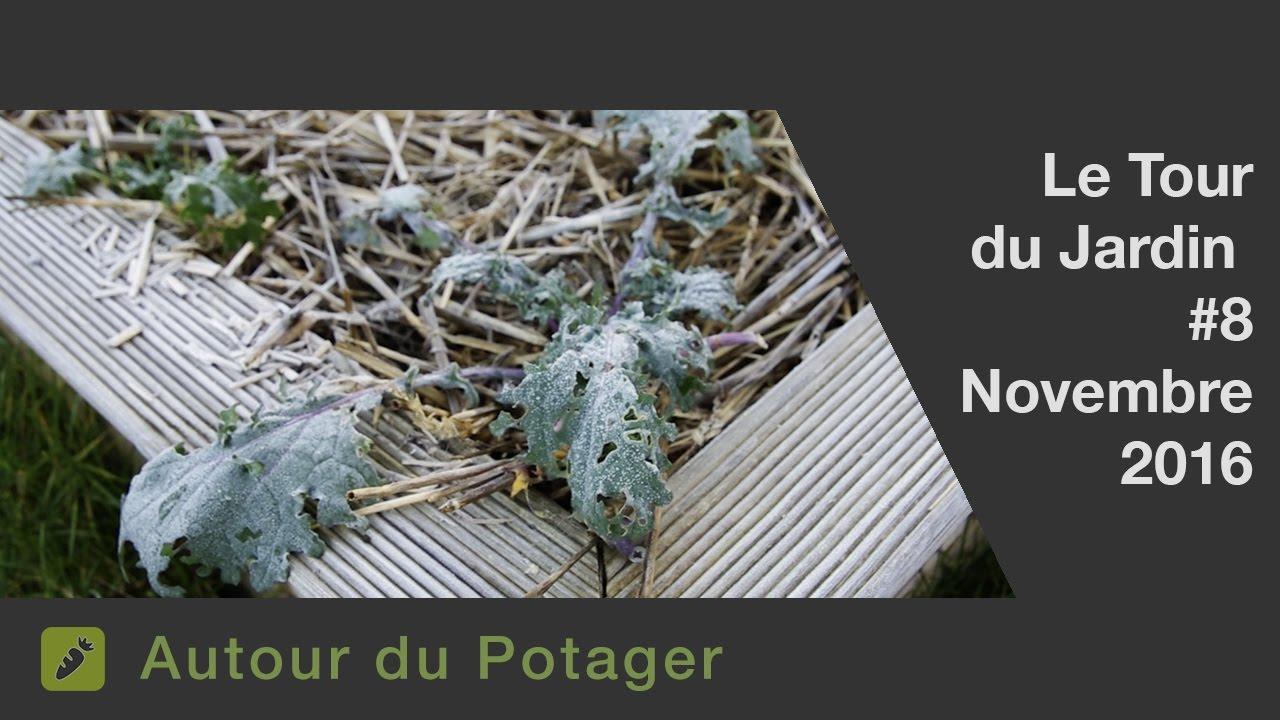 Le Jardin Et Le Potager En Novembre Youtube