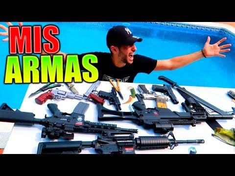 TODAS MIS ARMAS !! REVOLVER PISTOLAS CUCHILLOS FUSILES Y MUCHO MAS !! Makiman
