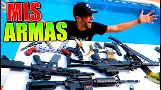TODAS MIS ARMAS !! REVOLVER PISTOLAS CUCHILLOS FUSILES Y MUCHO MAS !! Makiman thumbnail
