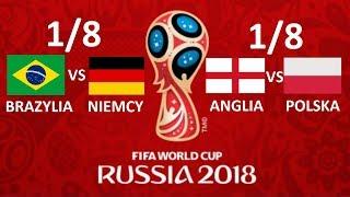 TURNIEJ PANINI WORLD CUP RUSSIA 2018 #14 - 1/8 - BRAZYLIA VS NIEMCY , POLSKA VS ANGLIA !