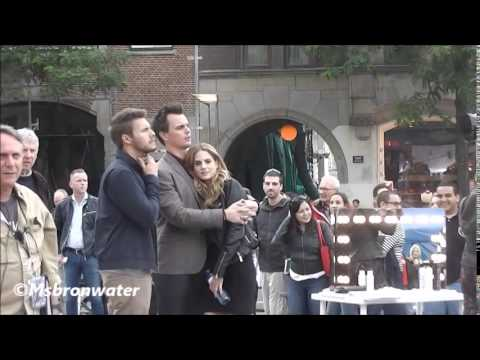 The Bold and the Beautiful Darin Brooks & Kelly Kruger @  The Dam Square Amsterdam