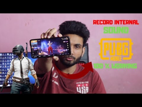 How To Record Internal Sound In Pubg Mobile 100 % Working
