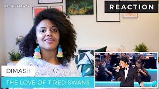 Dimash – The Love of Tired Swans | Kremlin | M-Angel REACTION