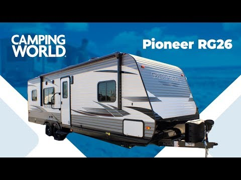 2020 Heartland Pioneer RG26   Travel Trailer Toy Hauler - RV Review: Camping World